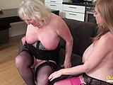 Lesbian milfs have skillful tongues from passionate XXX Tube