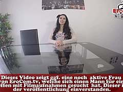 German anal secretary fuck pov in office